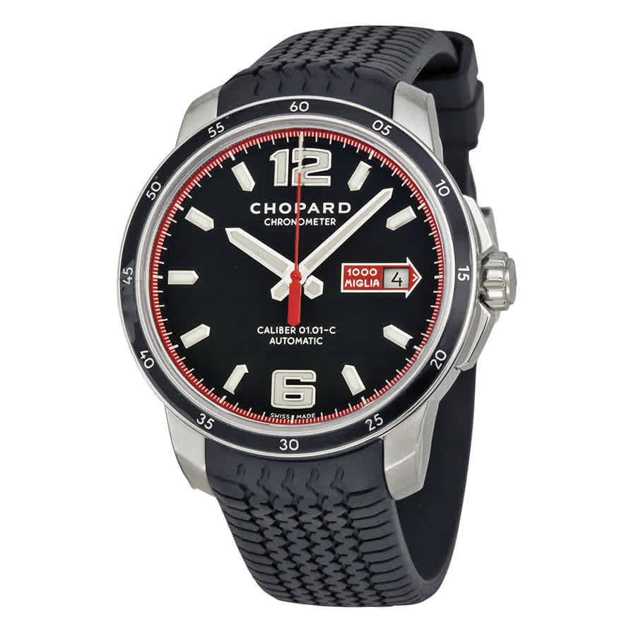 01e39cd4733b7 Chopard Mille Miglia GTS Automatic Black Dial Men s Watch 168565-3001