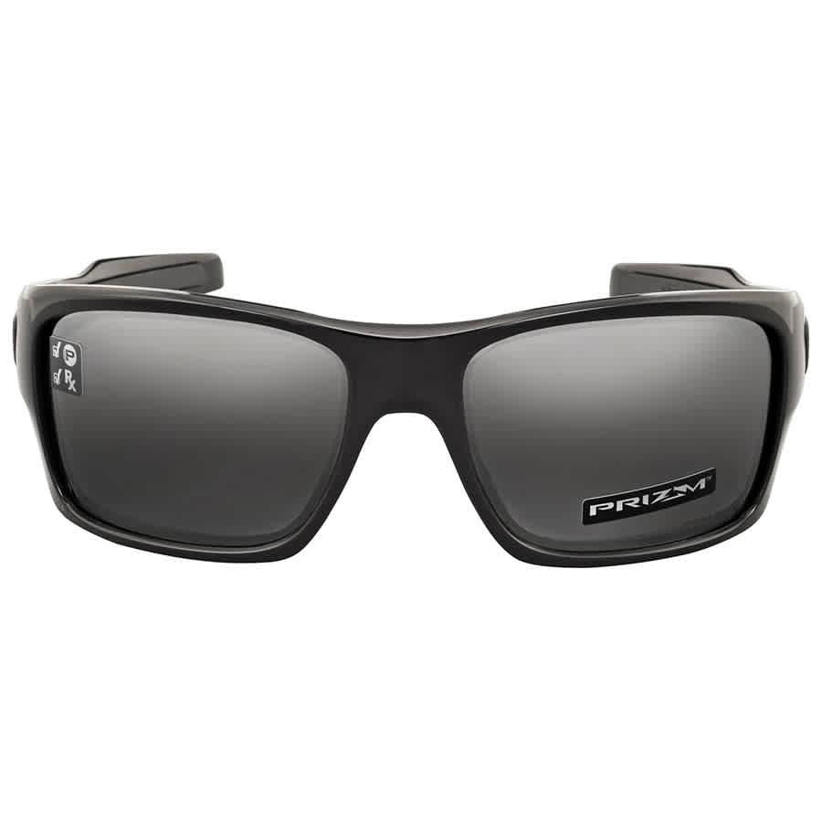 309086350 Oakley Turbine Polarized Black Prizm Sunglasses OO9263-926341-63 ...