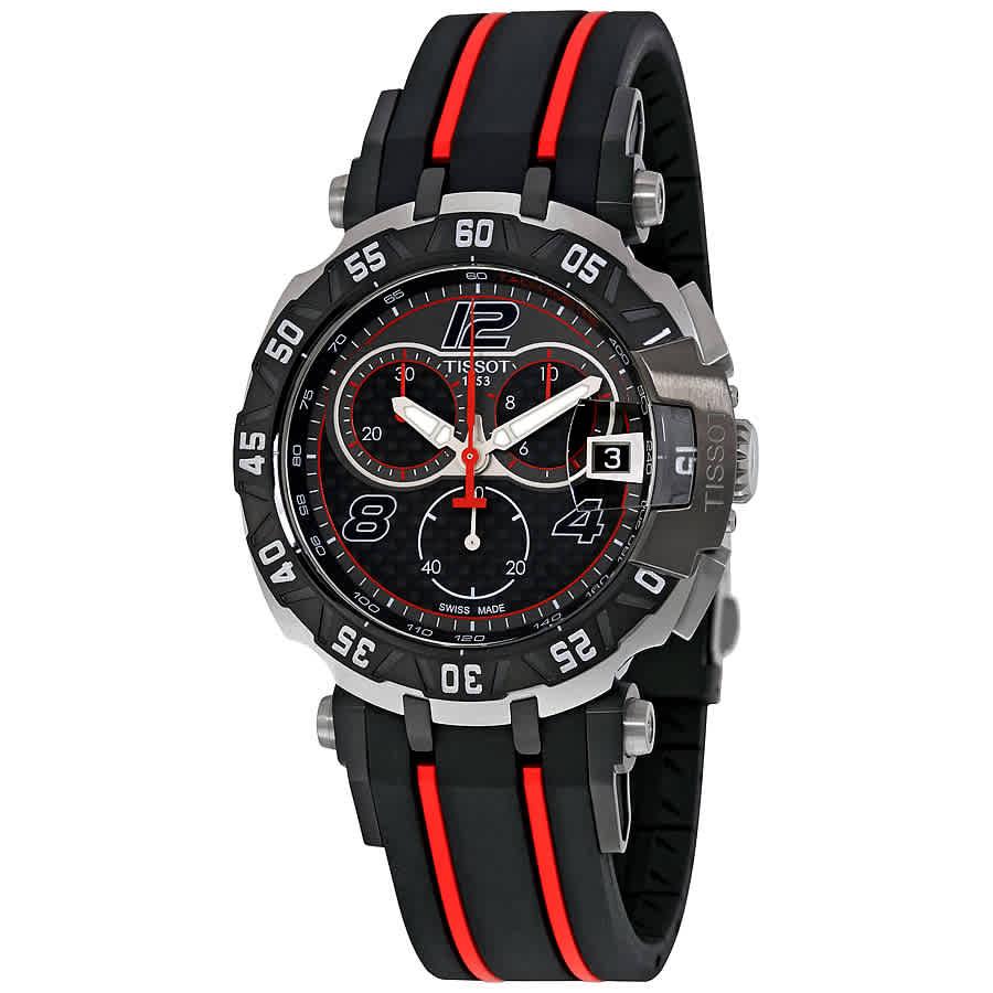 0a9346ee623 Tissot T-Race Moto GP Black Dial Chronograph Men s Watch T0924172720700