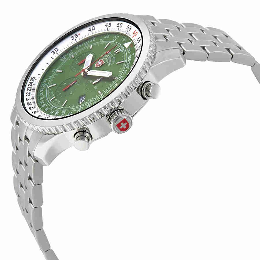 Swiss-Military-Thunderbolt-Men-039-s-Chronograph-Watch-Choose-color thumbnail 36