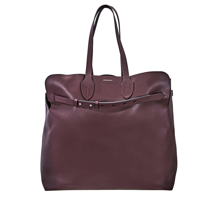 d4551def994c Burberry Large Soft Leather Belt Bag- Deep Claret 8006555