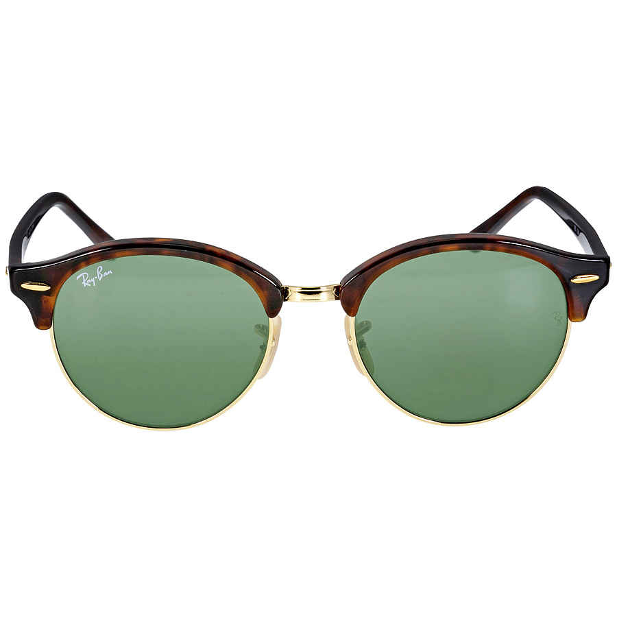 76bf2e0c7a18f Ray Ban Tortoise 4246 Clubround Round Sunglasses Lens 4246 990 ...