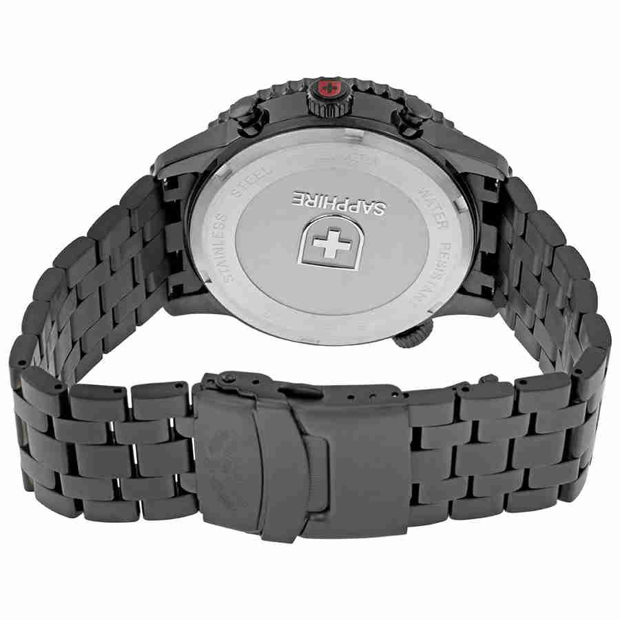 Swiss-Military-Thunderbolt-Men-039-s-Chronograph-Watch-Choose-color thumbnail 70