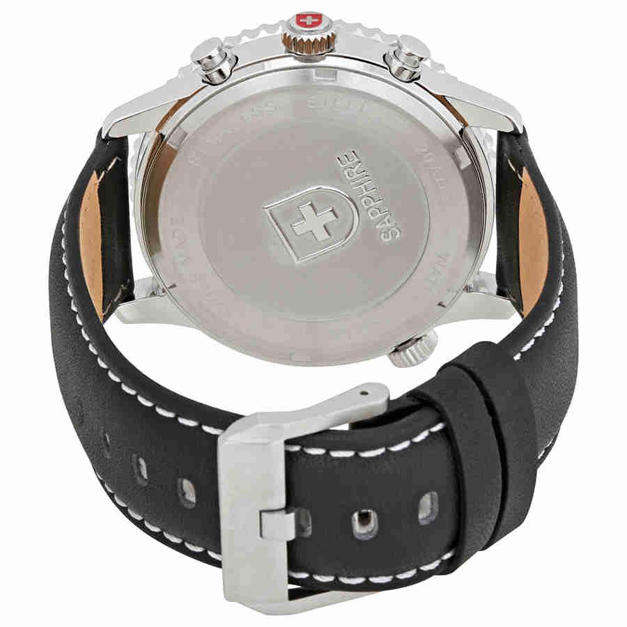 Swiss-Military-Thunderbolt-Men-039-s-Chronograph-Watch-Choose-color thumbnail 61