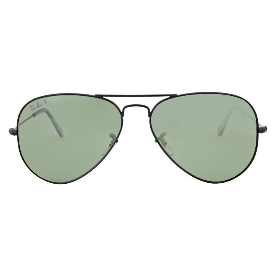 1a8e830a69b Ray Ban Aviator Polarized Green Classic G-15 Sunglasses RB3025 W3361 ...