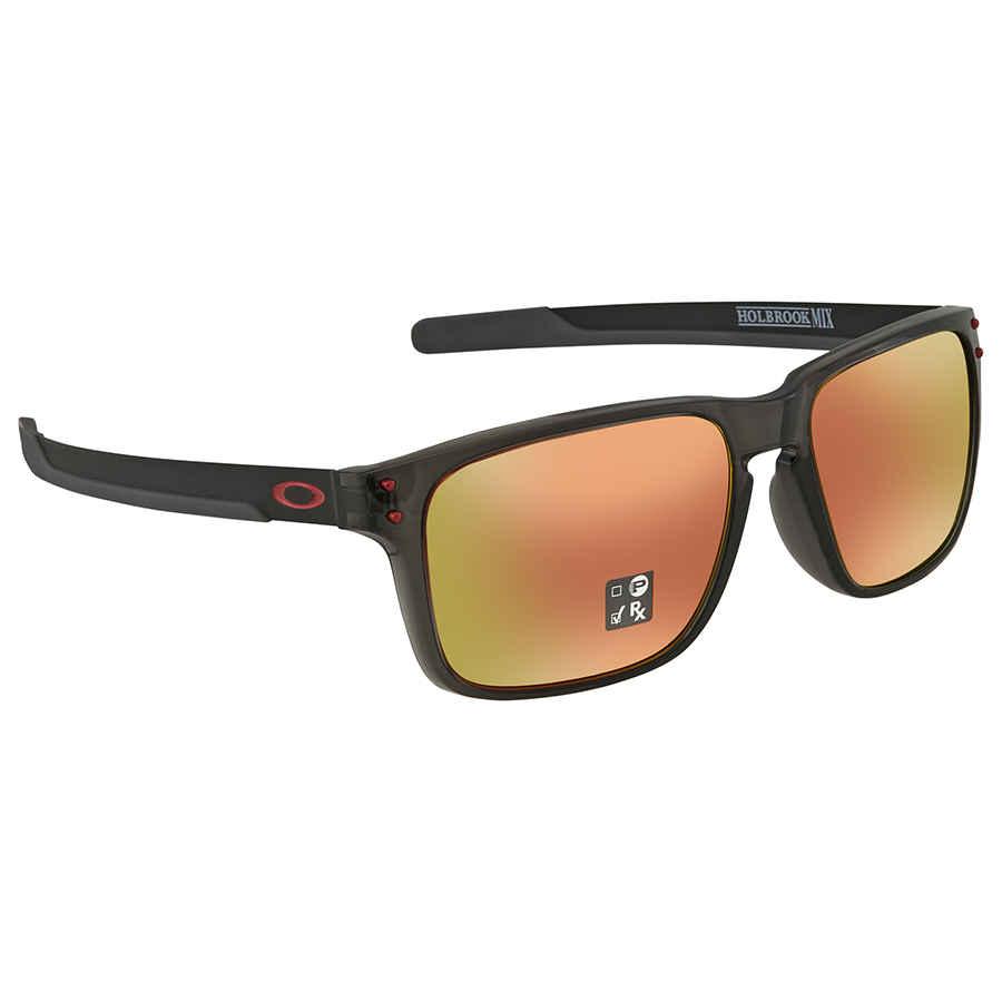 faf4238c72 Oakley Holbrook Mix (Asia Fit) Prizm Ruby Rectangular Men s Sunglasses  OO9385 938504 57