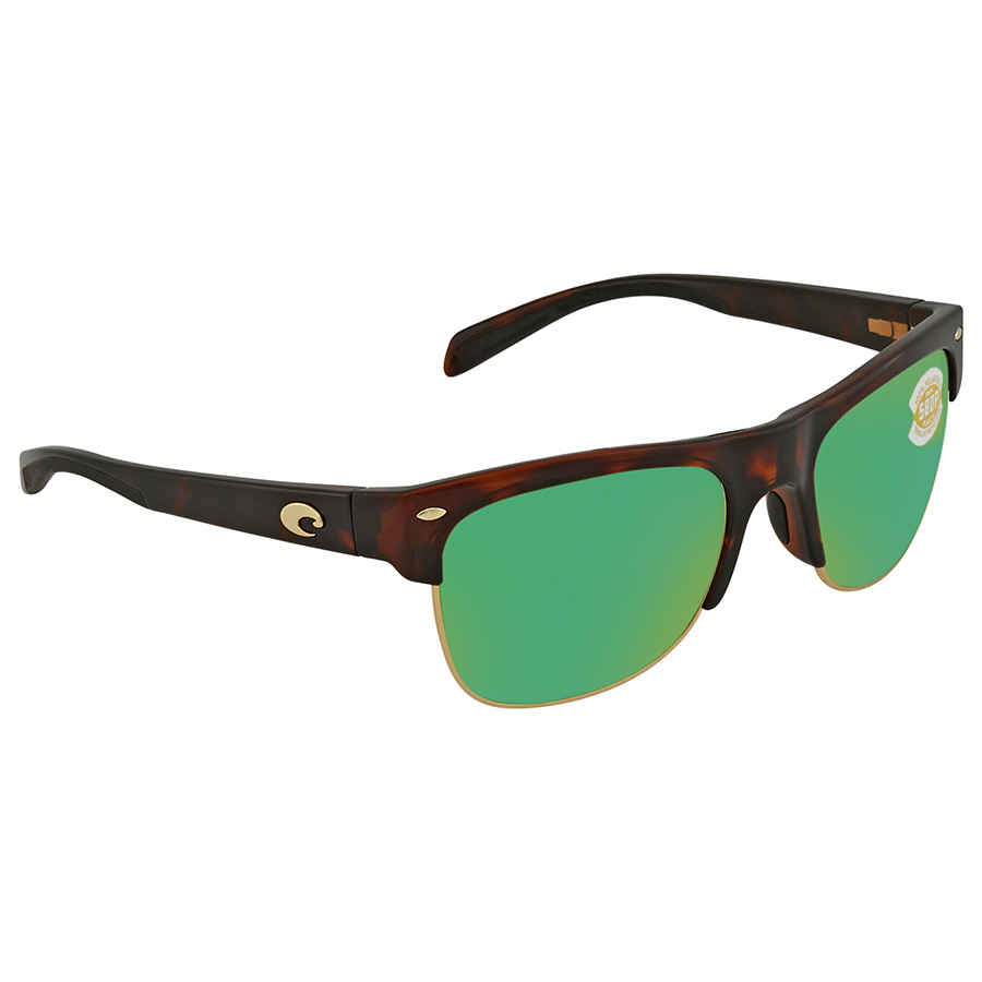 060a70c3b9cf9 Costa Del Mar Pawleys Green Mirror Polarized Plastic Large Fit Sunglasses  PW 66 OGMP