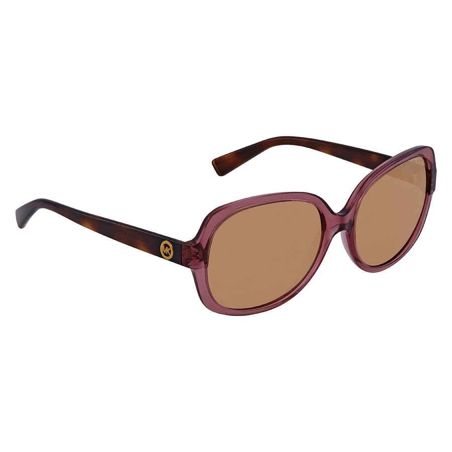 bb14c85577 Michael Kors Rose Transparent Sunglasses MK6017-3053R1-58 MK6017 ...