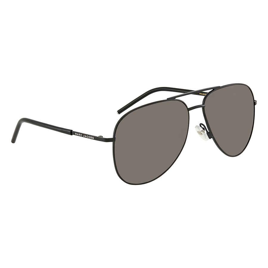 a4dbfc03e Marc Jacobs Gray CP PZ Aviator Polarized Sunglasses MARC 60/S 065Z M9 59