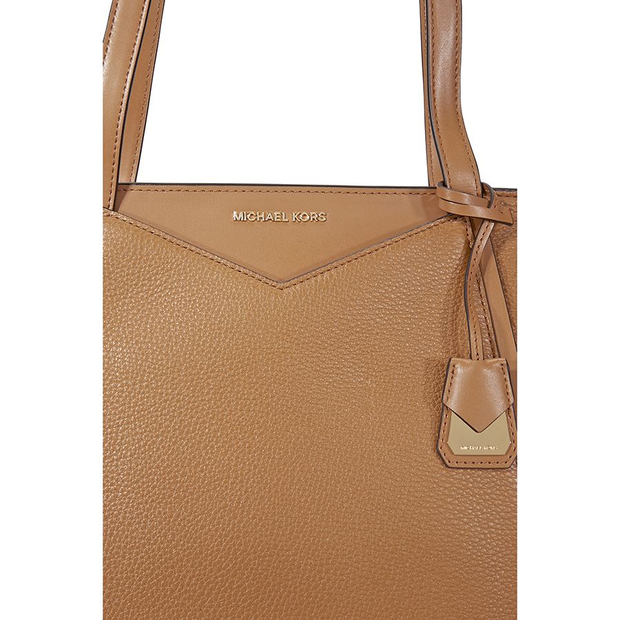 Michael Kors Pebbled Leather Tote Choose Color Ebay