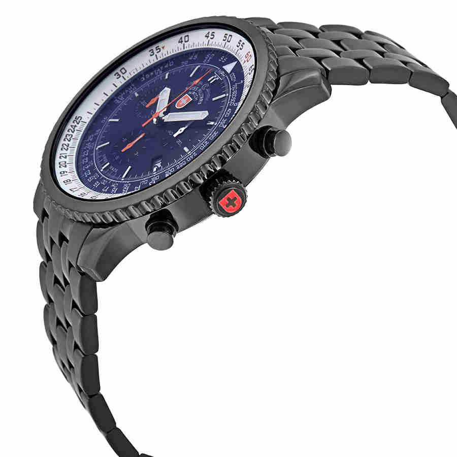 Swiss-Military-Thunderbolt-Men-039-s-Chronograph-Watch-Choose-color thumbnail 21