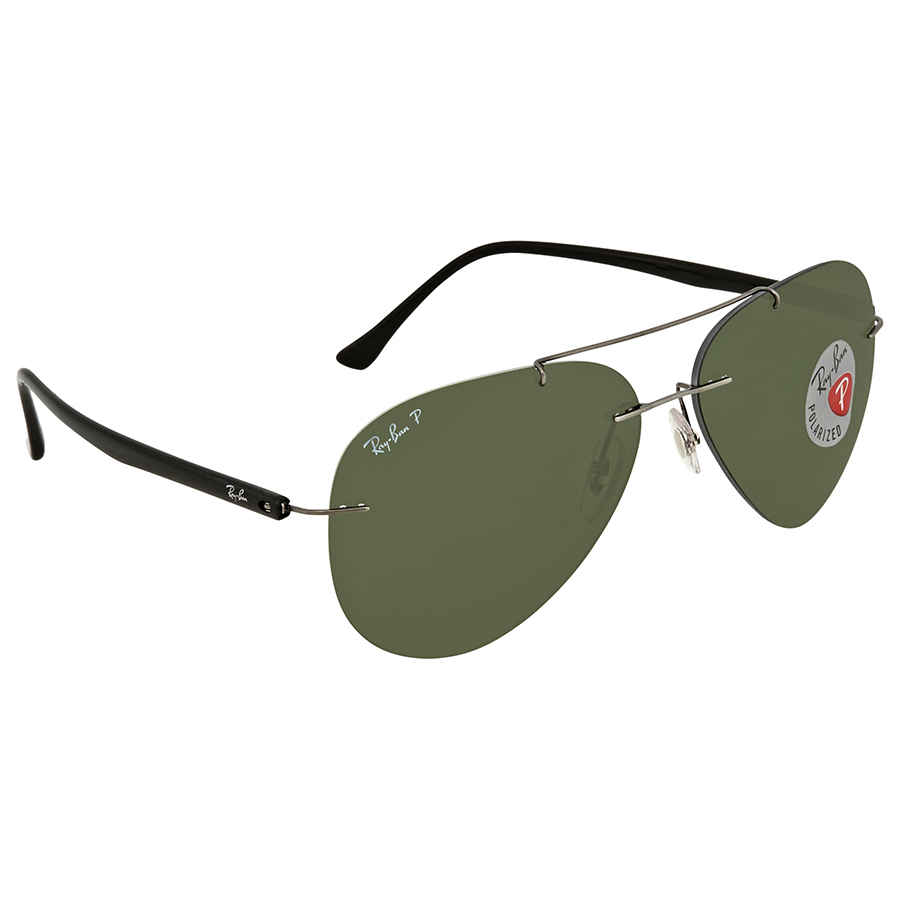 c87102ade56 Ray Ban Green Aviator Men s Sunglasses RB8058 004 9A 59 ...