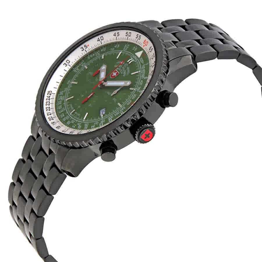 Swiss-Military-Thunderbolt-Men-039-s-Chronograph-Watch-Choose-color thumbnail 33