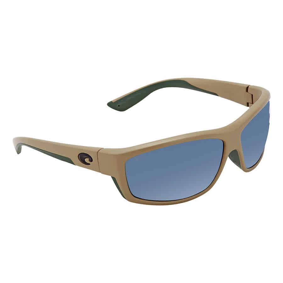d801a83dbe Costa Del Mar Saltbreak Gray Polarized Plastic Rectangular Sunglasses BK  248 OGP