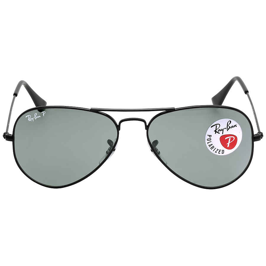 c69360bbbc Ray Ban Aviator Classic Polarized Green Classic G-15 Sunglasses RB3025  002 58 55