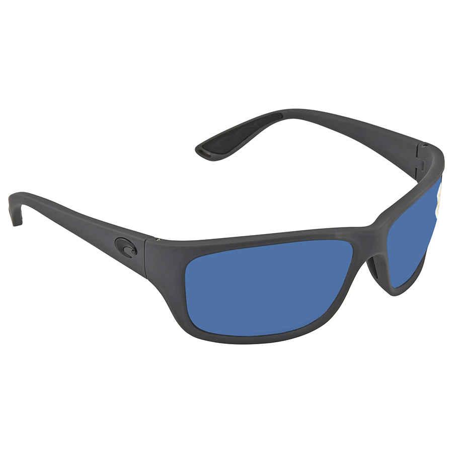 0282a4b7af Costa Del Mar Tasman Sea Blue Mirror Polarized Plastic Rectangular  Sunglasses TAS 98 OBMP