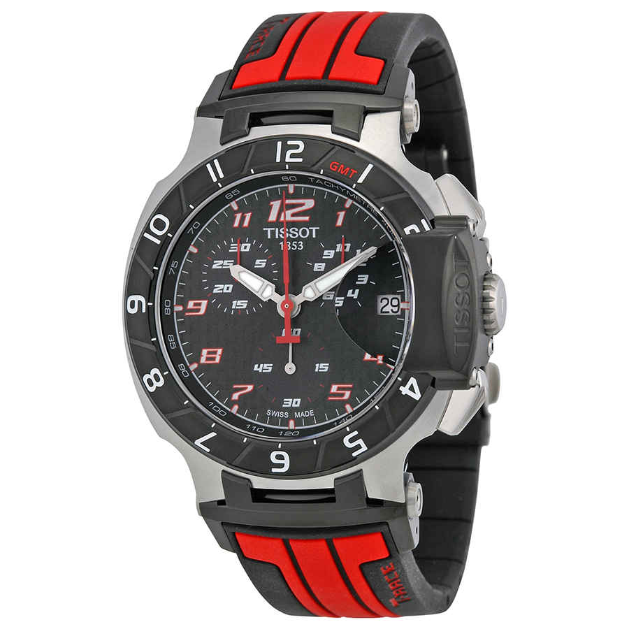 422e7d7e167 Tissot T Race Chronograph Black Dial Men s Watch T0484172720701 ...