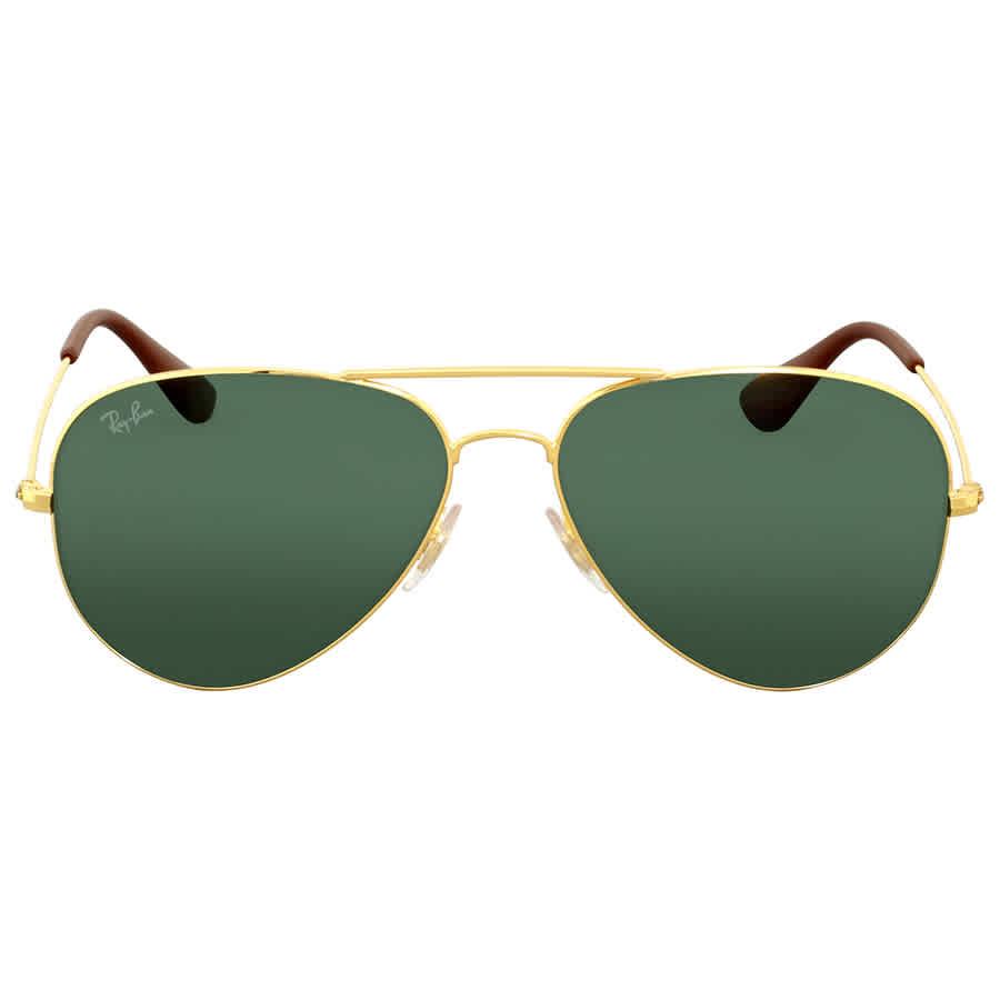 e1e6c2199f Ray-Ban Green Classic Aviator Sunglasses RB3558 001 71 58 ...