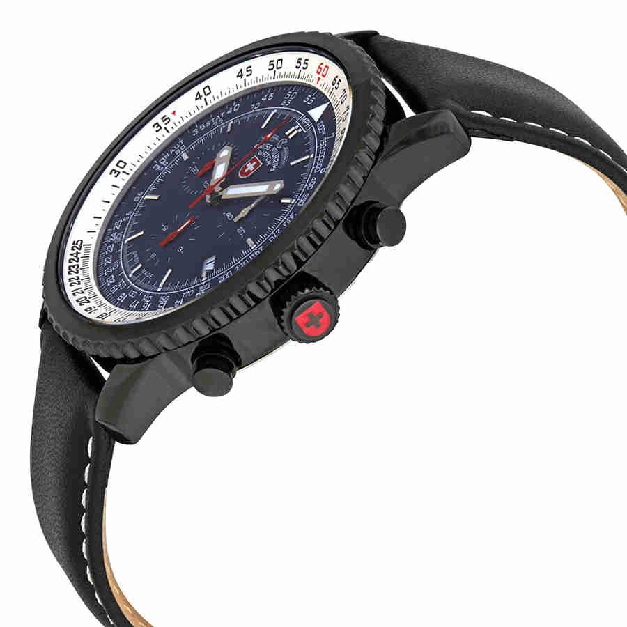 Swiss-Military-Thunderbolt-Men-039-s-Chronograph-Watch-Choose-color thumbnail 18