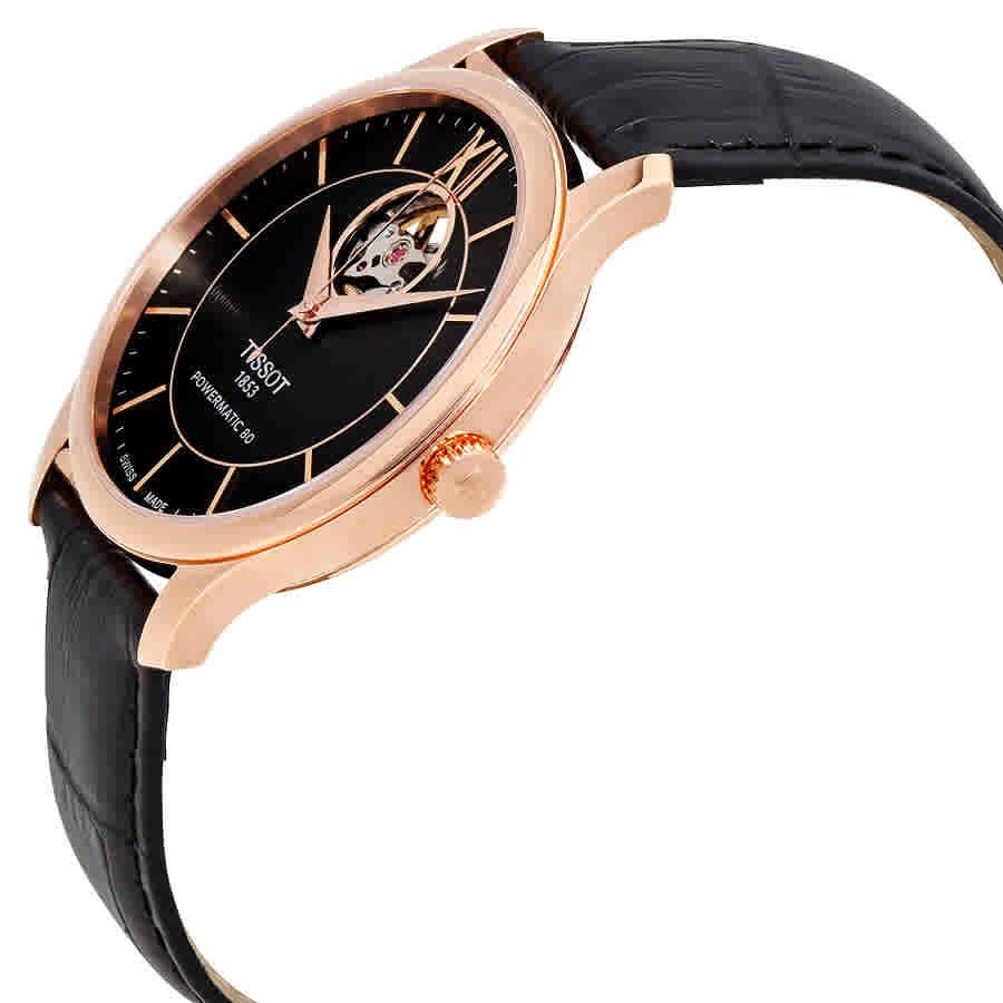Tissot T Classic Tradition Automatoic Leather Men's Watch - Choose color