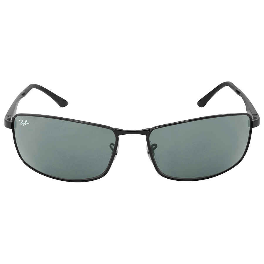 98ae8d3a96e01 Ray Ban RB3498 Green Classic Sunglasses RB3498 002 71 64-17 RB3498 ...