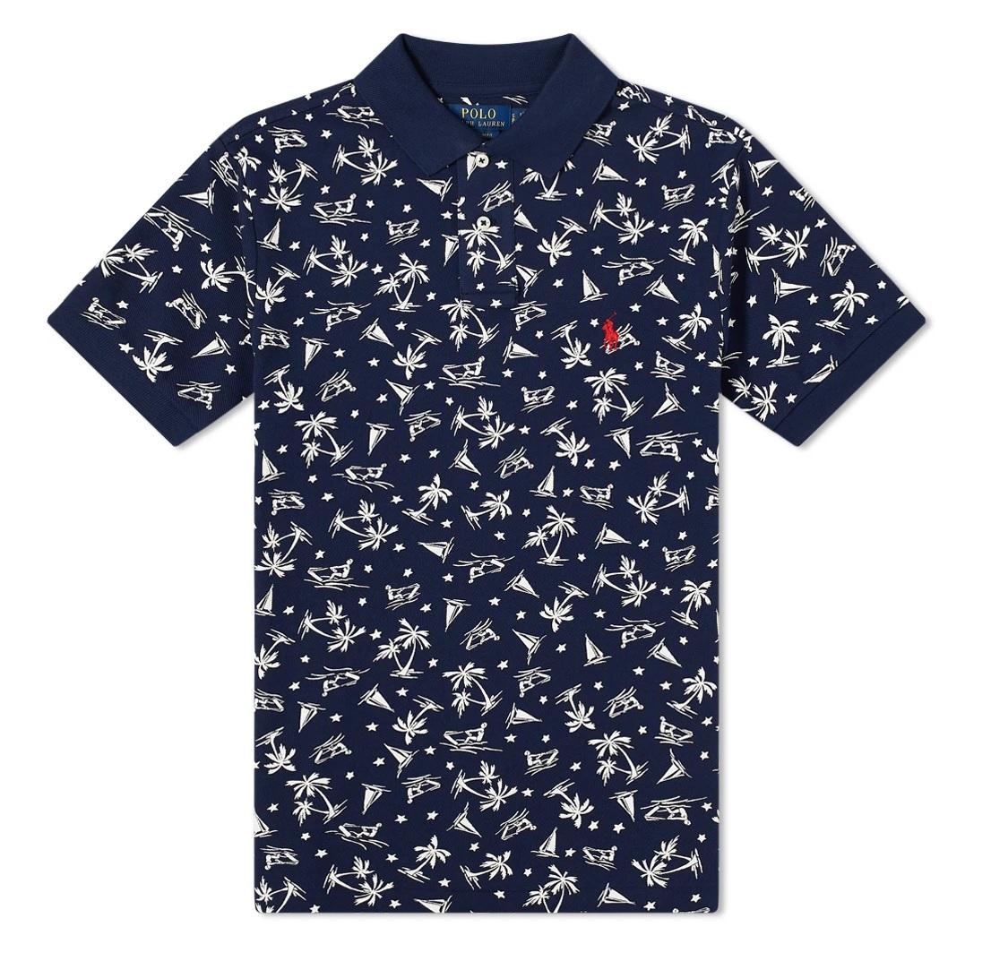 Polo Ralph Lauren Men's Wakeboarder Print Polo Shirt | eBay