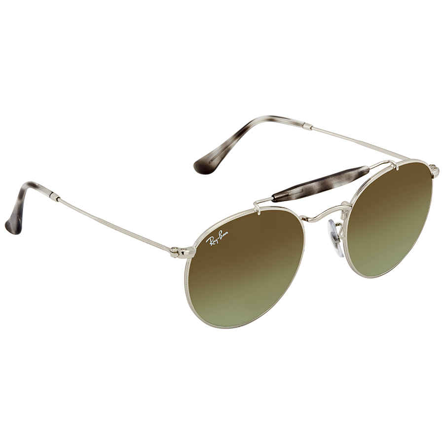 cb1fe23d98 Ray Ban Green Gradient Round Sunglasses RB3747 003 A6 50 ...