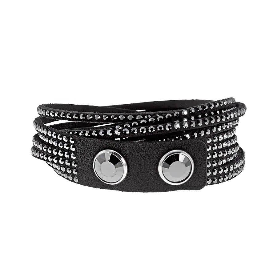 25cf4204c7bc1 Swarovski Slake Black Bracelet 1179237 768549696237   eBay
