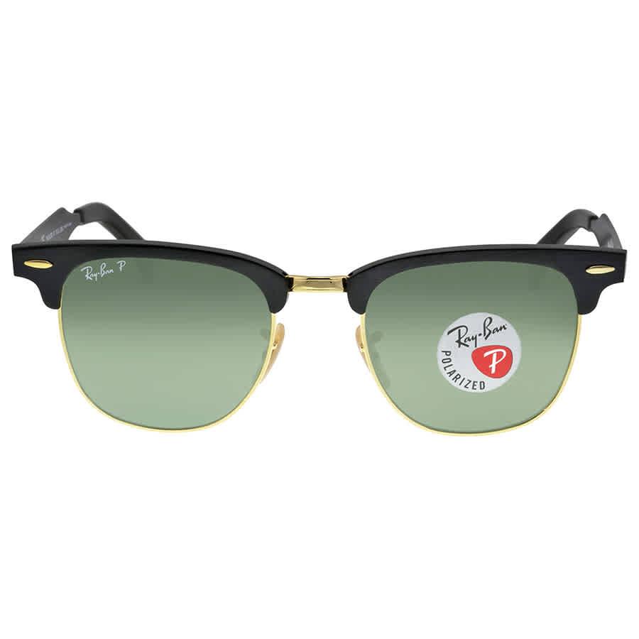 7b5d5ec0a215c Ray Ban Clubmaster Polarized Green Classic Sunglasses RB3507 136 N5 51-21