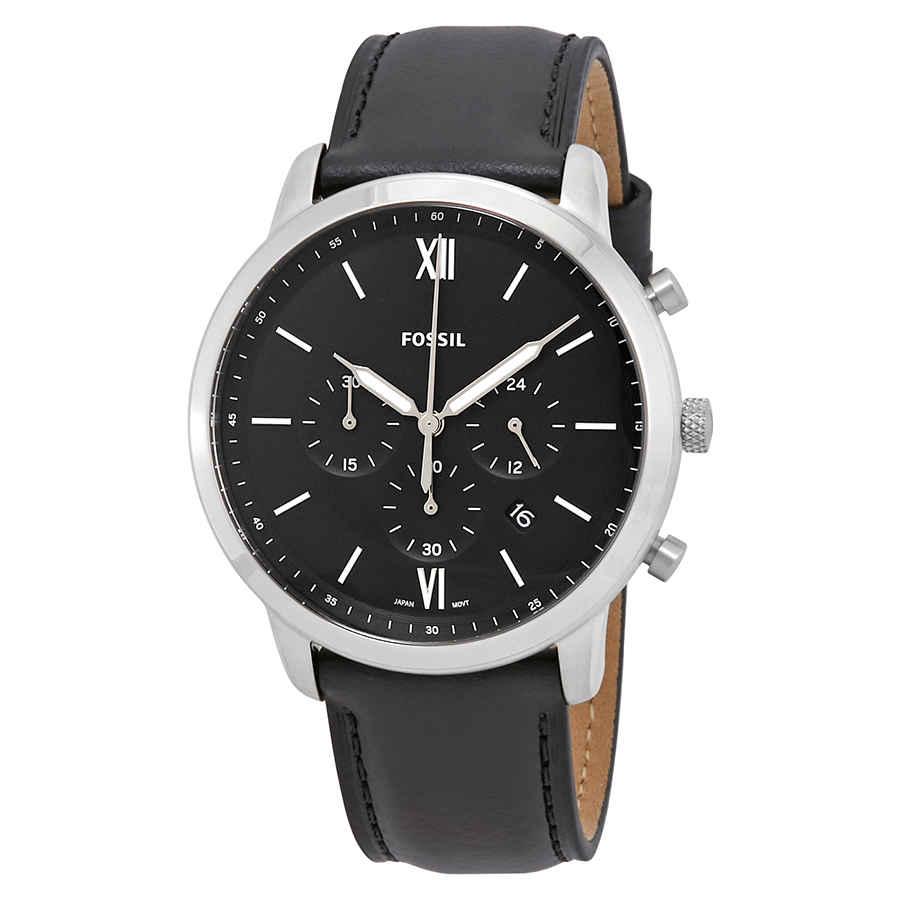 1e83291d01a4 Fossil Neutra Black Dial Men s Chronograph Watch FS5452 796483388260 ...