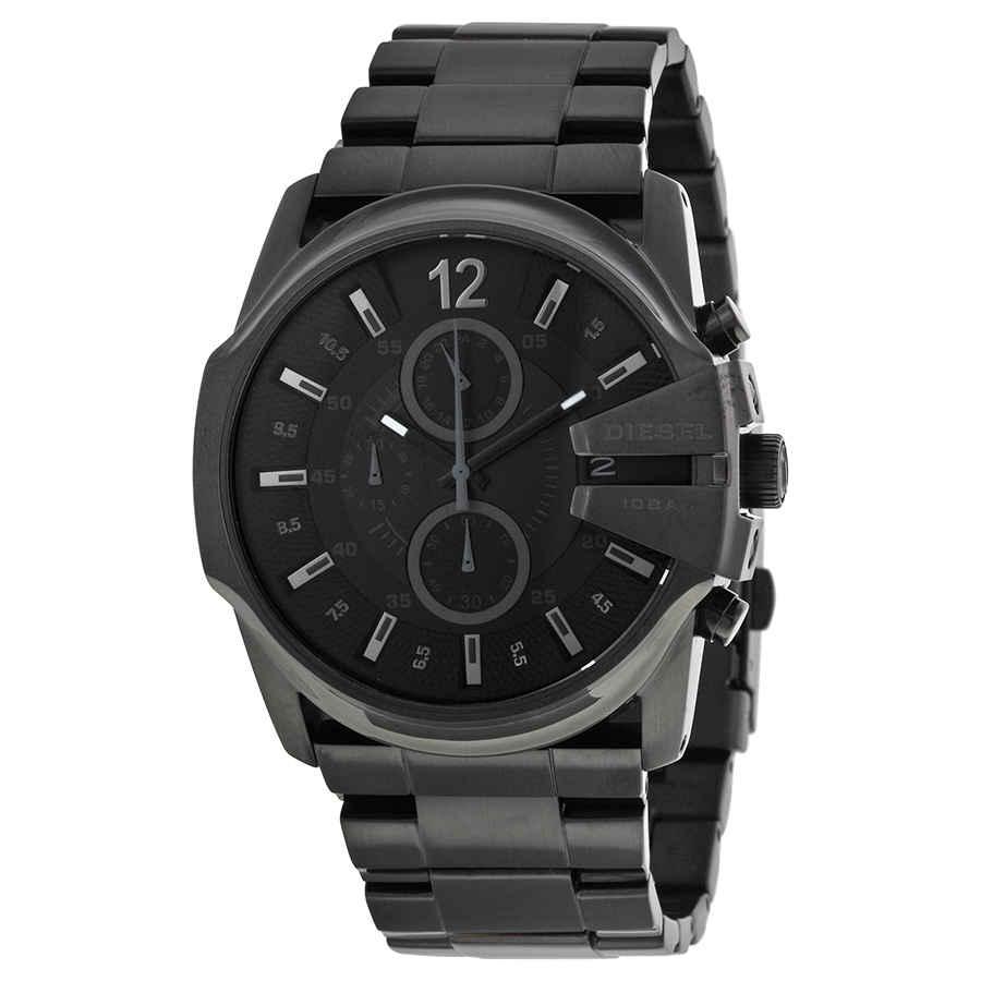 71f84031cda Diesel Master Chief Black Dial Black Men s Watch DZ4180 698615063529 ...
