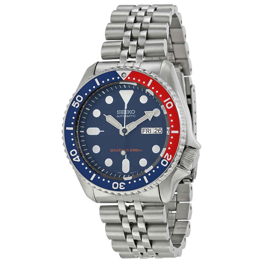 898e0d4470d93 Seiko Divers Automatic Pepsi Bezel Navy Blue Dial Men s Watch SKX009K2