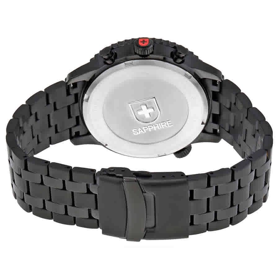Swiss-Military-Thunderbolt-Men-039-s-Chronograph-Watch-Choose-color thumbnail 7