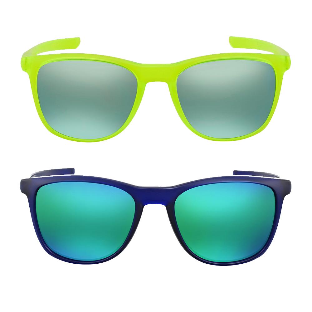 413d293919f Details about OAK-OO9340-934004-52 Oakley Trillbe X Jade Iridium Square  Sunglasses