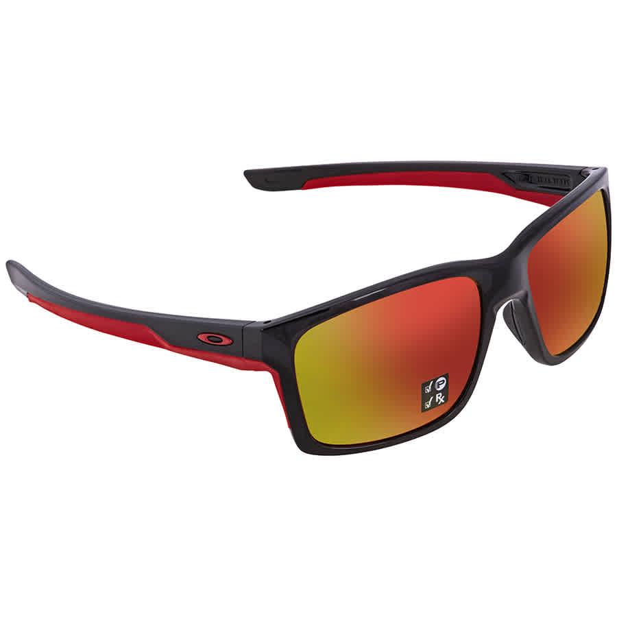 Oakley Mainlink Prizm Ruby Polarized Rectangular Men s Sunglasses OO9264  926435 57 f127e8ccbd