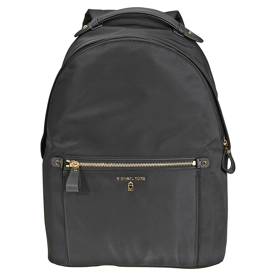57e186b6a193 Michael Kors Kelsey Nylon Backpack - Choose color | Style / Color Black/Gold