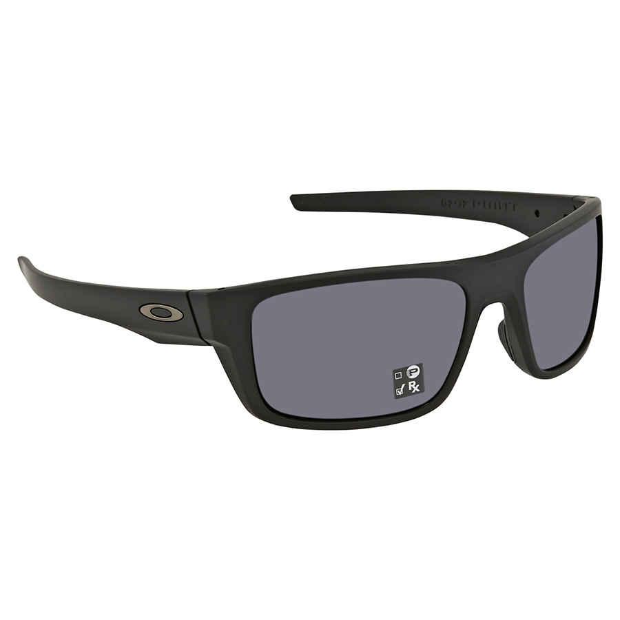 cb53d9fe92 Oakley Drop Point Grey Rectangular Men s Sunglasses OO9367-936701-60 ...