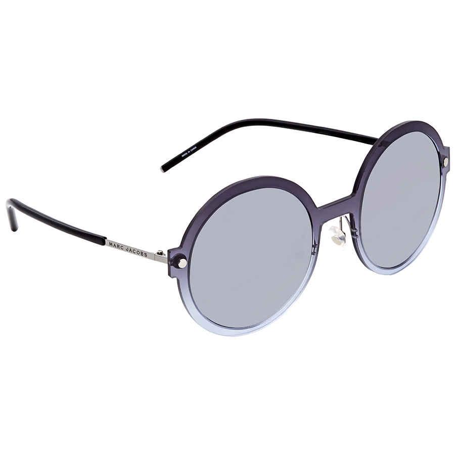 bfd8830a0 Marc Jacobs Round Ruthenium Sunglasses MARC29S 0FSE GO 54 MARC29S ...