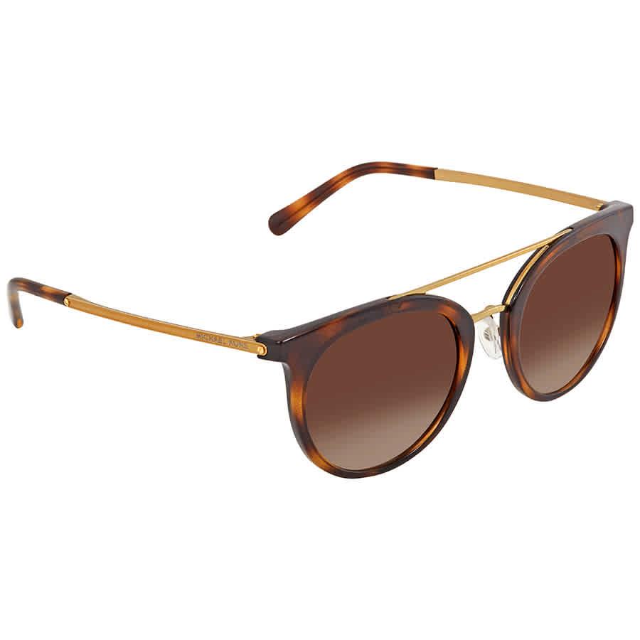 91e28c68f8 Michael Kors Ila Smoke Gradient Round Ladies Sunglasses MK2056-327013-50