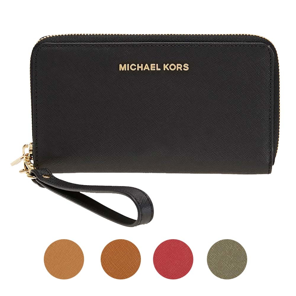 7642f6c29e99 Details about Michael Kors Jet Set Travel Large Smartphone Wristlet -  Choose color