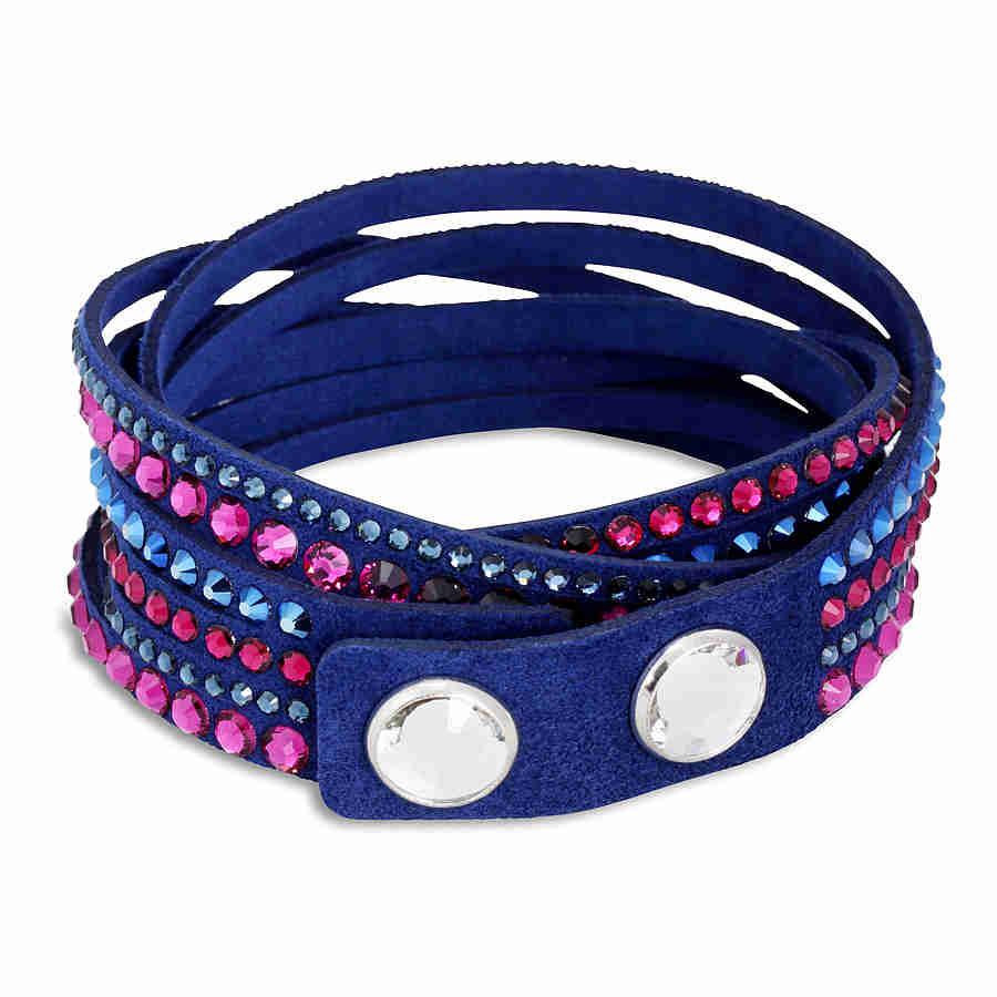 Swarovski-Slake-Crystal-Ladies-Authentic-Swarovski-Bracelet thumbnail 10