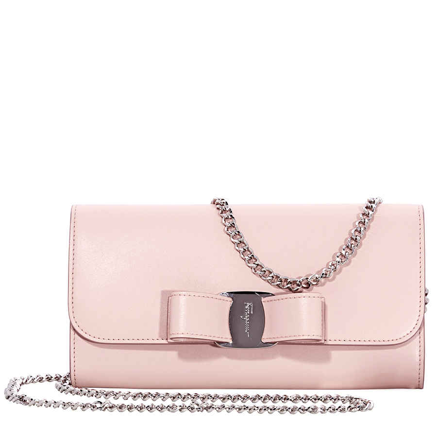 Ferragamo Vara Bow Mini Leather Bag- Bon Bon Pink 22D3280 691683 ... a1faf49c4dc7f