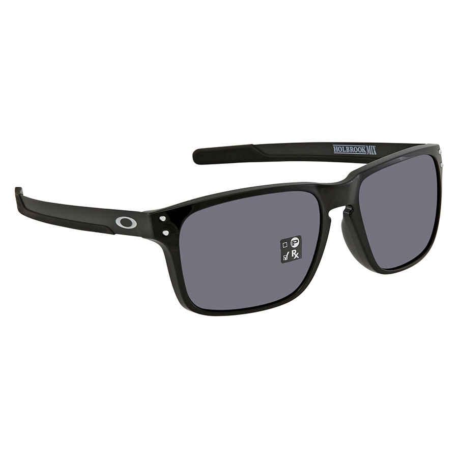 76e37a4f9d Oakley Holbrook Mix (Asia Fit) Grey Rectangular Men's Sunglasses OO9385  938501 57