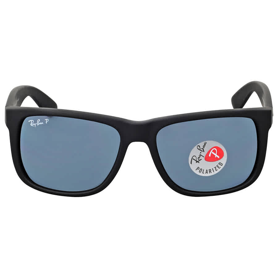 df755147e Ray-Ban Justin Polarized Blue Classic RB4165 622/2V 55 8053672508147 ...