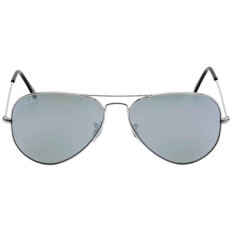 1bf5cc76f3a Ray Ban Aviator Silver Mirror Sunglasses RB3025 W3277 58-14 RB3025 ...