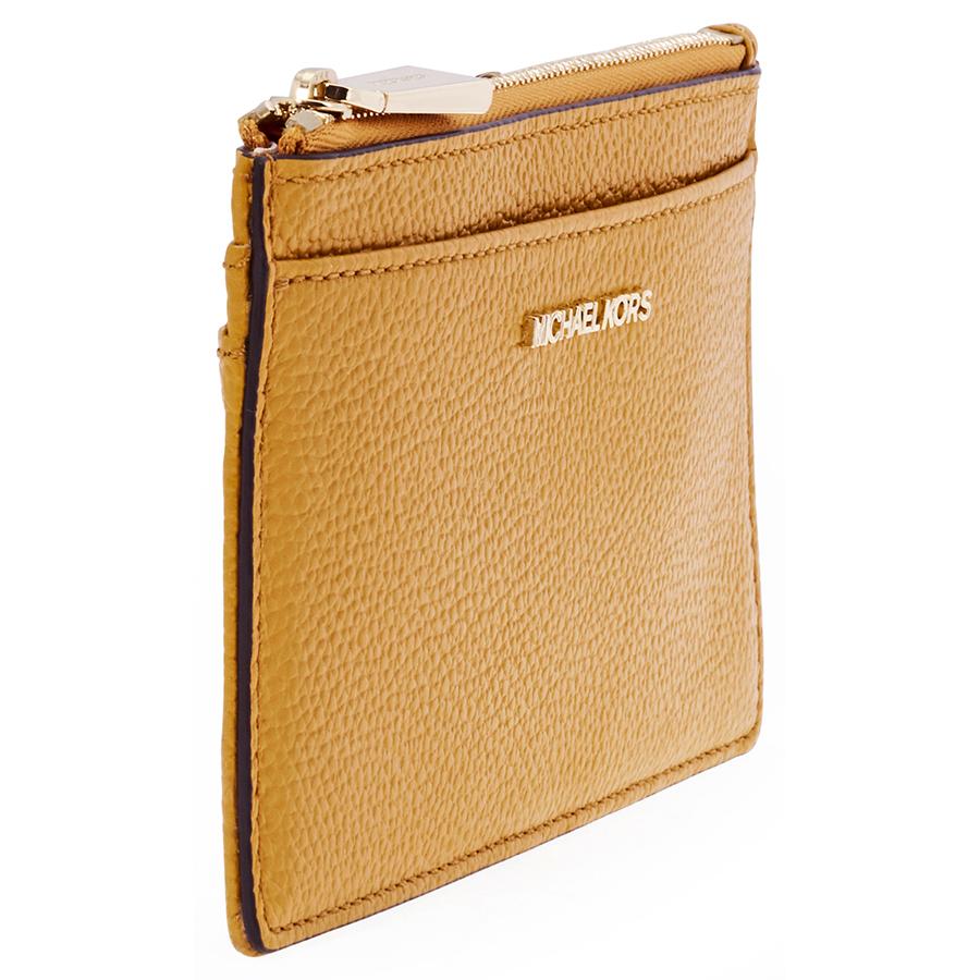 eb30221c4400 Michael Kors Large Pebbled Leather Card Case - Choose color