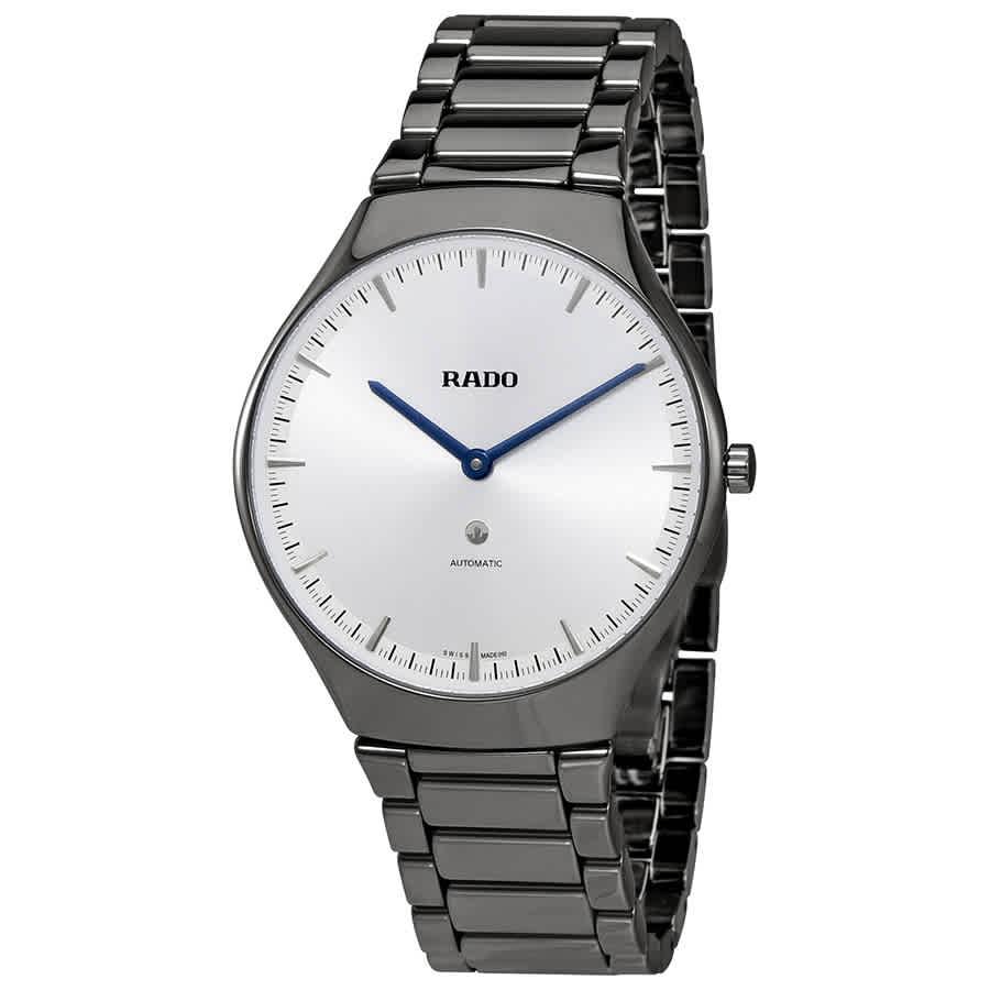 ed76ffd21 Rado True Thinline L Silver Dial Automatic Men's Watch R27972102 | eBay