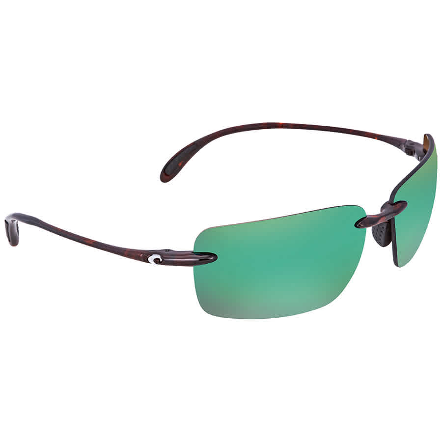 b8185a679e729 Costa Del Mar Gulf Shore Green Mirror Polarized X-Large Fit Sunglasses GSH  10 OGMP