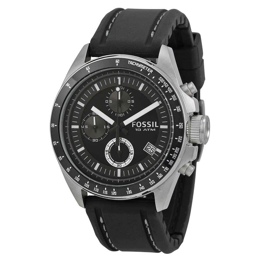 1e05dd6e9d5 Fossil Dexter Black Dial Chronograph Men s Watch CH2573 691464297145 ...