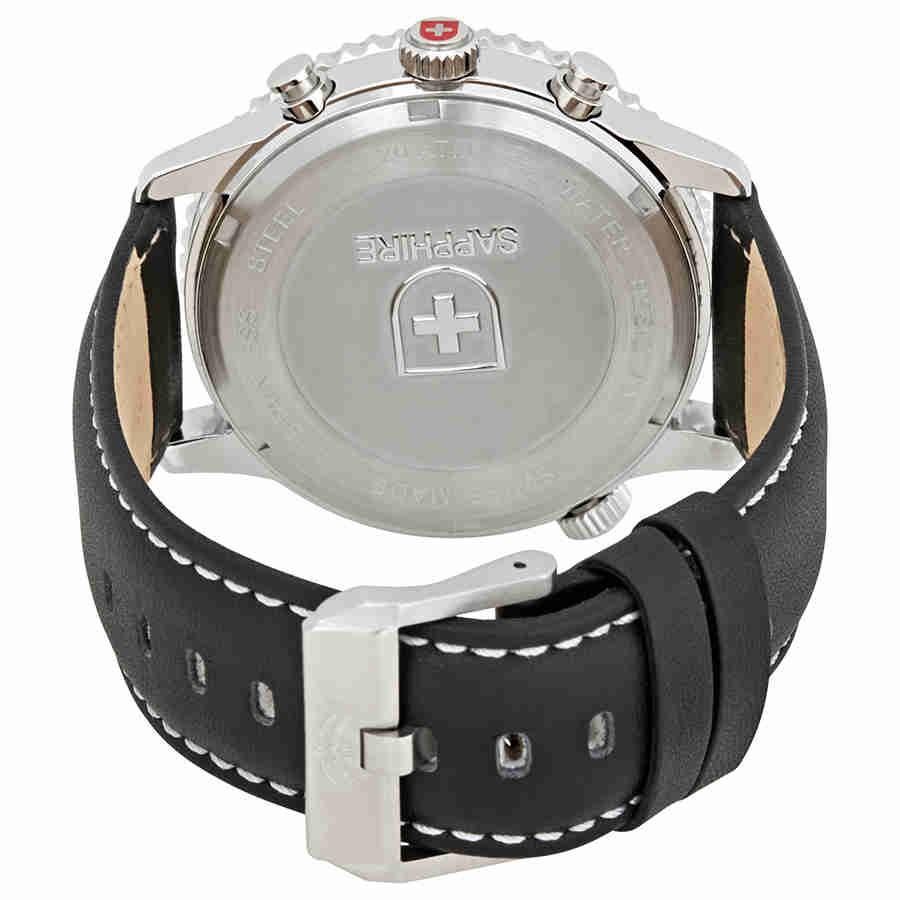 Swiss-Military-Thunderbolt-Men-039-s-Chronograph-Watch-Choose-color thumbnail 16